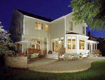 Finkelstein - Family Room and Bedroom Addition - traditional - exterior - dc metro - by D G Liu Design and Home Remodeling - Dale Kramer