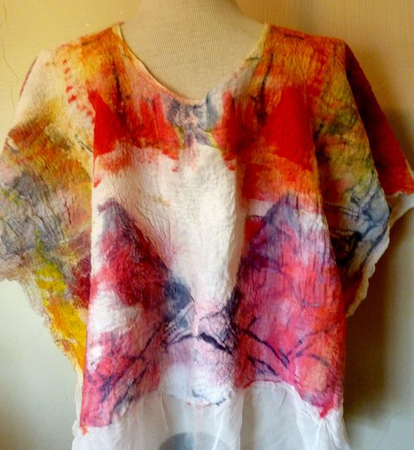 All sizes | Nuno felted tunic | Flickr - Photo Sharing!