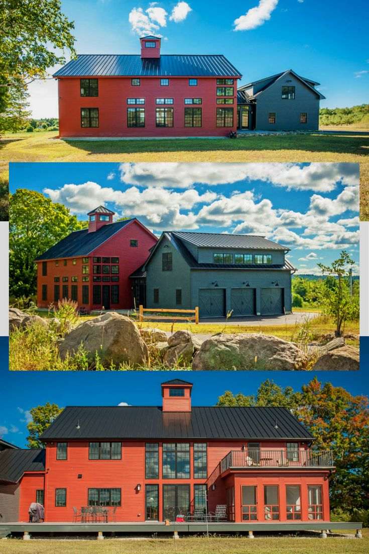 365 best images about barn homes for people on pinterest for Contemporary barn homes