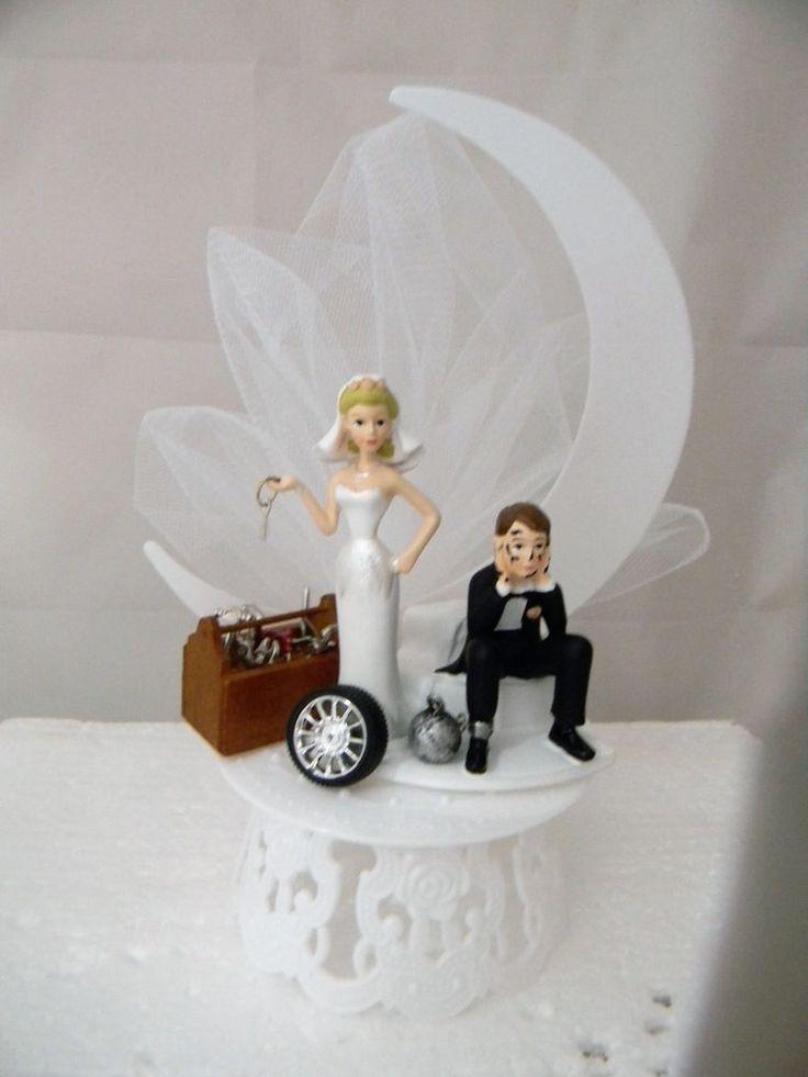 Wedding Reception Race Car Truck Mechanic Tools Grease Shop Garage Cake Topper  | Home & Garden, Wedding Supplies, Wedding Cake Toppers | eBay!