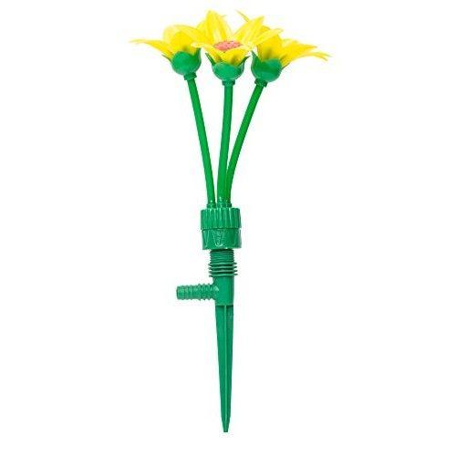 Çiçek Şeklinde Bahçe Sulama Fıskiyesi (3 Başlı)