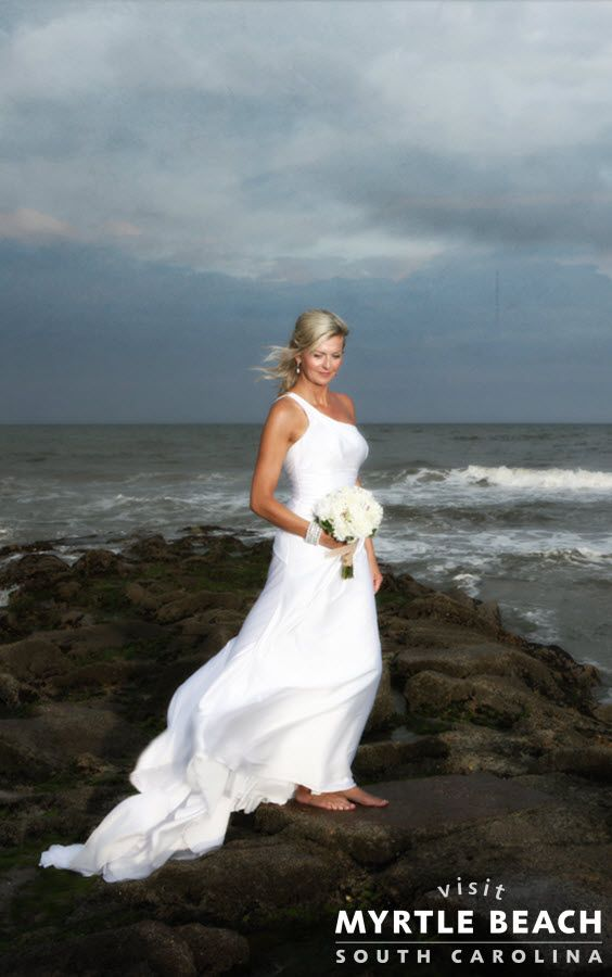 Myrtle Beach Wedding Dresses : Do you dream of a beach wedding experience the natural