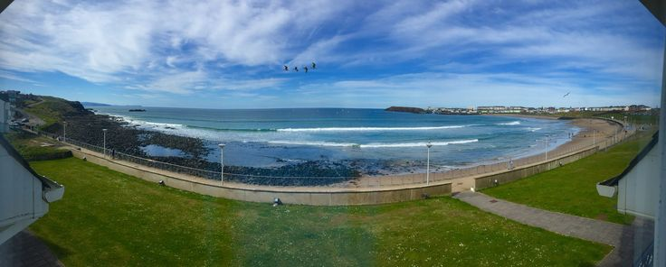 View from the lounge #portrush