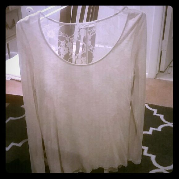 ... completely sheer. Looks amazing on :) Forever 21 Tops Tees - Long