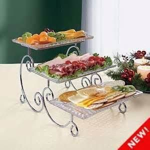 best 25 tiered serving tray ideas on pinterest galvanized 3 tier stand galvanized tiered. Black Bedroom Furniture Sets. Home Design Ideas