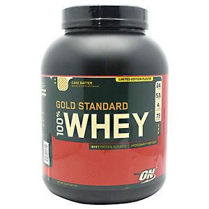 Health And Fitness: Optimum Nutrition Gold Standard 100% Whey - 5 Lb Protein Powder Cake Batter BUY IT NOW ONLY: $47.99