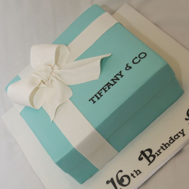 Best 25 gift box cakes ideas on pinterest beautiful birthday tiffany co gift box cake flickr photo sharing negle Image collections