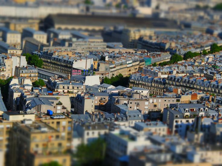 Tilt Shift Paris Series - TATI discount store by george otoiu on 500px