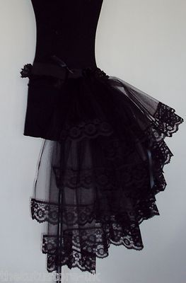 Black bustle!- Don't know what I'd wear it with, but I love it!