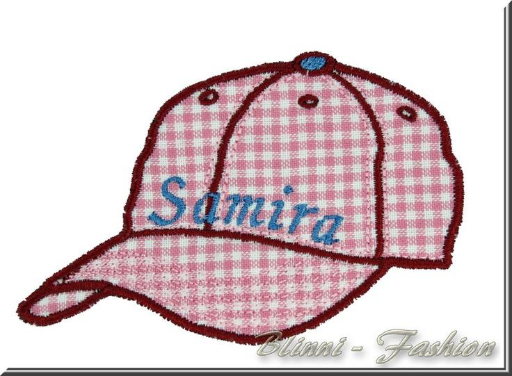 """""""Baseball-Cap""""    Für coole Jungs und freche Mädchen, Baseball Kappe, Aufnäher mit Wunschtext    Super zum Aufpeppen von Shirts, Jacke, Mütze, Sweater"""
