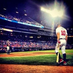 <3Baseball Quotes, Brave Baby, Atlanta Sports, Baseball Life, Atlanta Brave, Chipper Jones, My Heart, Brave Baseball, Brave Fanatic
