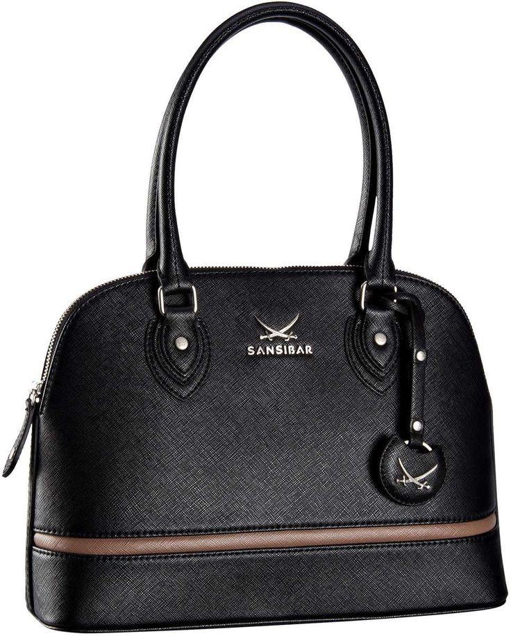 Sansibar Sansibar Chic Handtasche Black (innen: Grau) - Handtasche