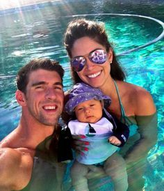 Olympics, Here He Comes! Michael Phelps' Son Hits the Pool for the First Time