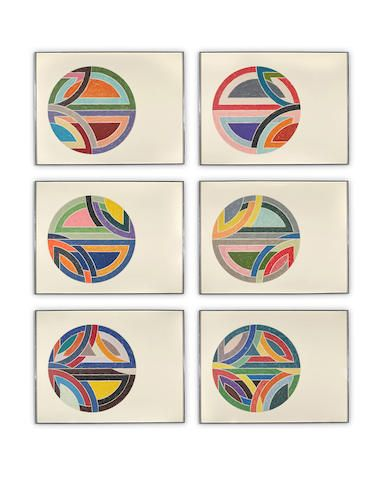 Frank Stella | Sinjerli Variations | Offset lithograph & screenprint | 1977