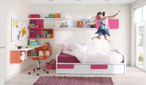 La habitaci n que evoluciona con tu hija desde los 6 a for Cuartos de ninas 12 anos