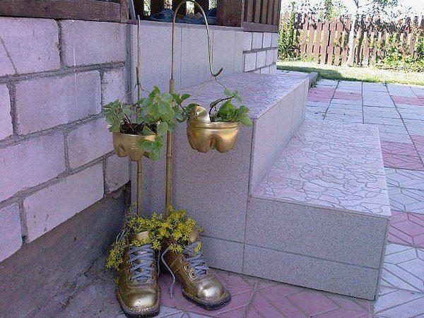 Подвесные цветочные горшки