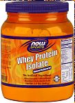 NOW Whey Protein Isolate Natural Unflavored - 1.2 lb.