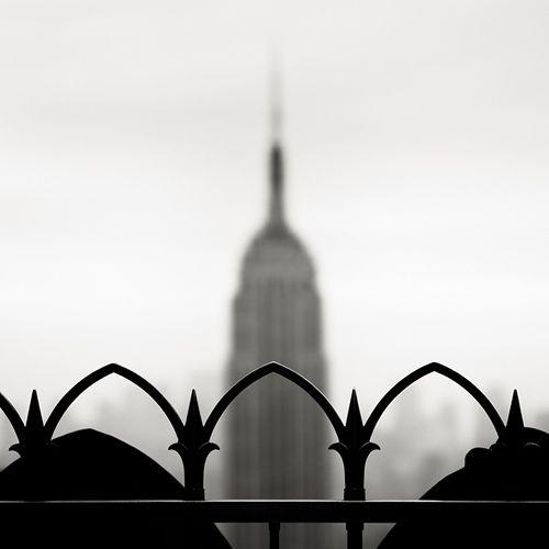 Blurry Empire State