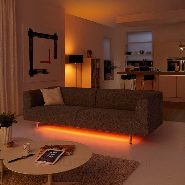 philips friends of hue led lightstrips starter kit 7531586 intelligente ingenieuze. Black Bedroom Furniture Sets. Home Design Ideas