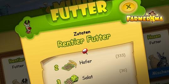 #Farmerama #interface #redesign, a flash based #farm game 2010
