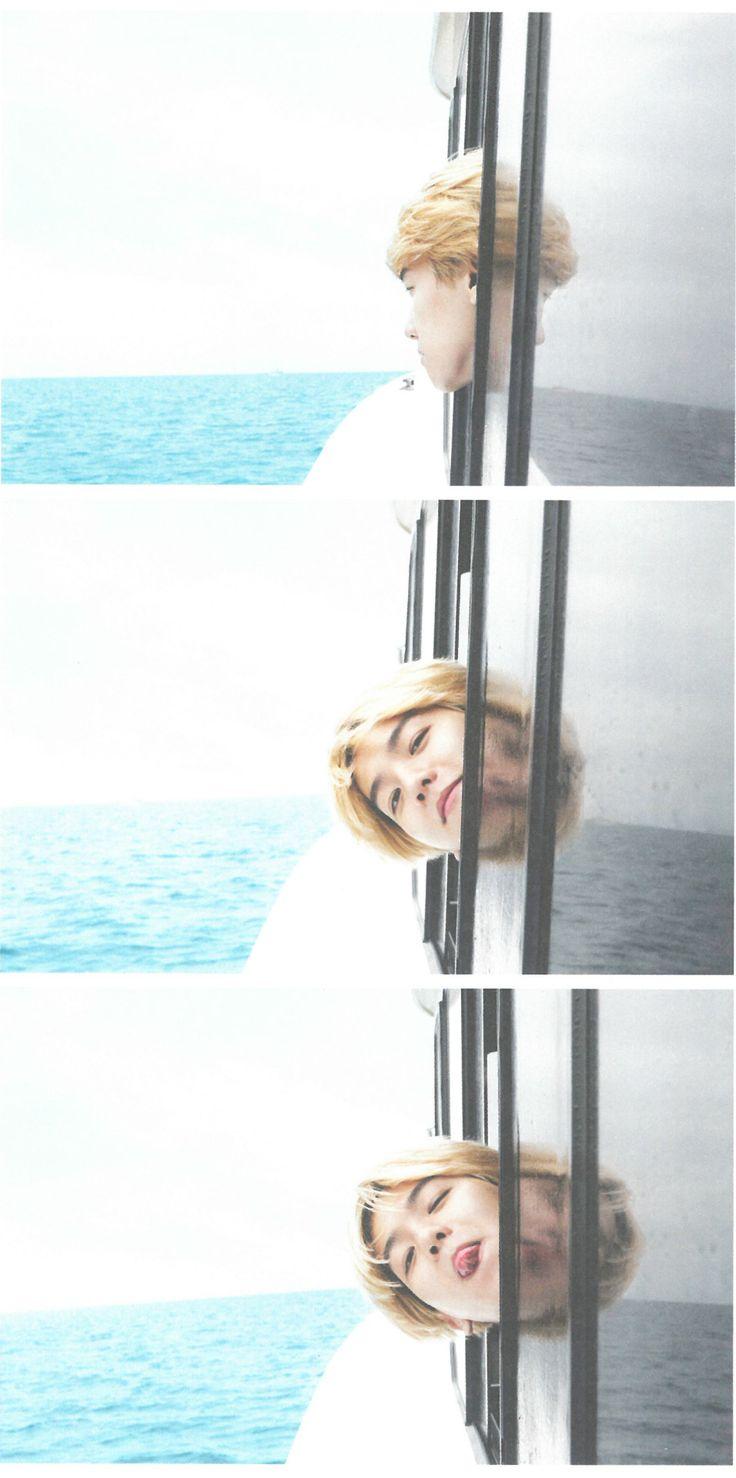 EXO Fiji Photobook Dear Happiness (baekhyun)