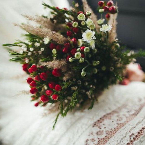 ramo de novia invierno                                                                                                                                                      Más