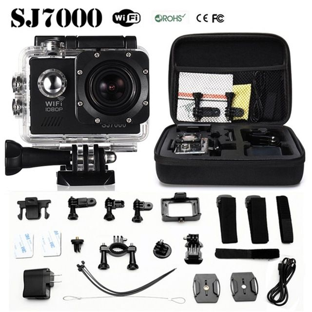 Sport Action Camera SJ7000 WIFI 14MP Full HD 1080P 2.0 LCD Underwater 30M 170 Degree Lens Waterproof Helmet camera US $53.99-61.99 /piece Specifics  Additional Function 	Support WIFI is_customized 	Yes Screen Size 	2.0 LTPS LED High Definition Support 	1080P (Full-HD) Application 	Extreme Sports  Click to Buy:http://goo.gl/Ld8Y6A