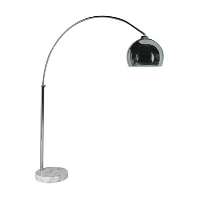 dwell - Giant curved floor light with marble base - £139