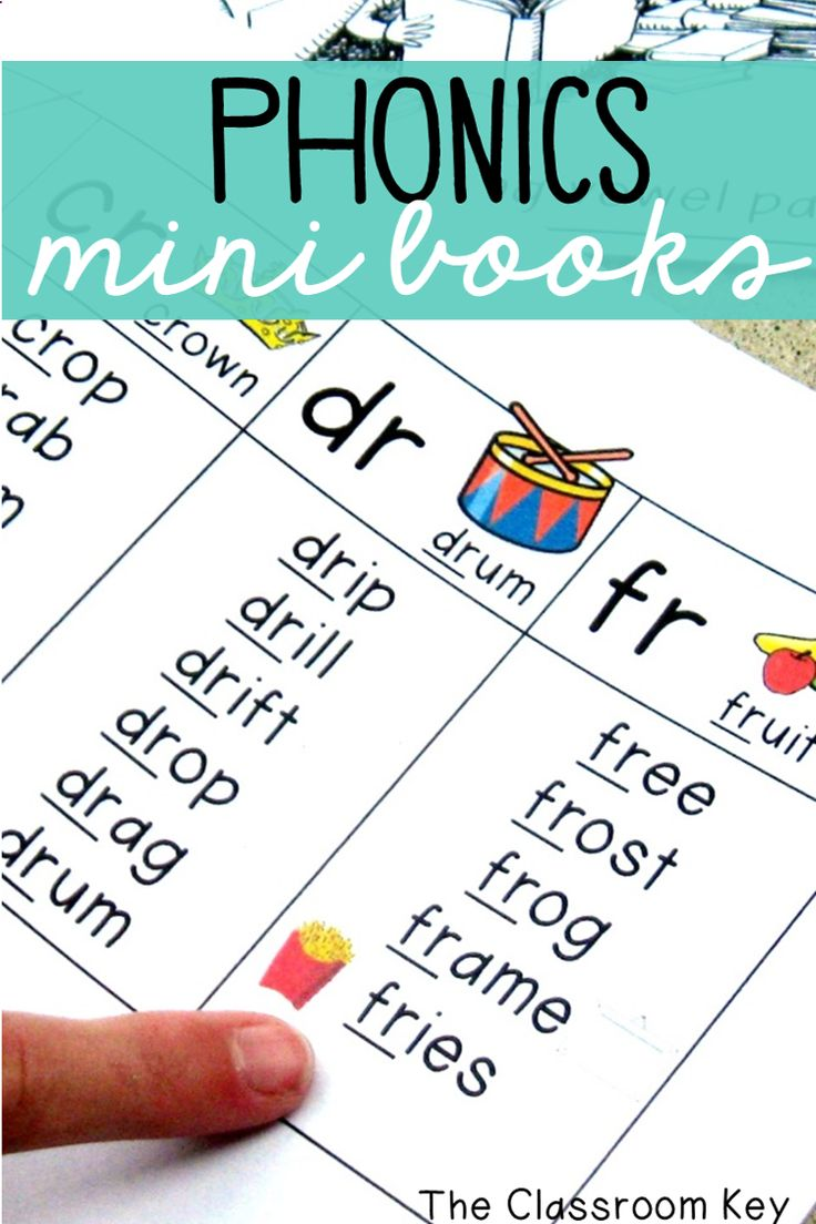 Phonics Mini Books ($) Half page booklets that are perfect for quick review of short and long vowels, digraphs, blends,  and bossy r patterns