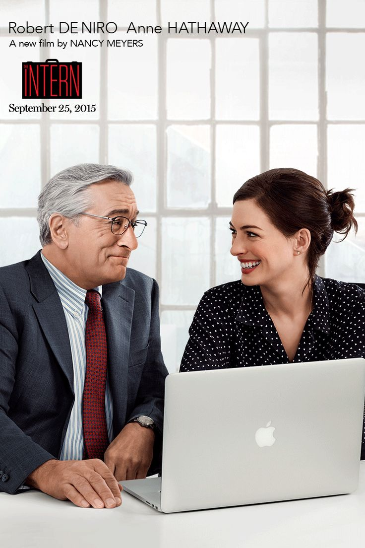 Her intern has a lifetime of experience. From Nancy Meyers, the writer and director of IT'S COMPLICATED, THE HOLIDAY, and SOMETHING'S GOTTA GIVE, comes a new comedy about a retired widower who becomes a senior intern at an online fashion site. THE INTERN starring Robert De Niro and Anne Hathaway opens in theaters September 25, 2015.