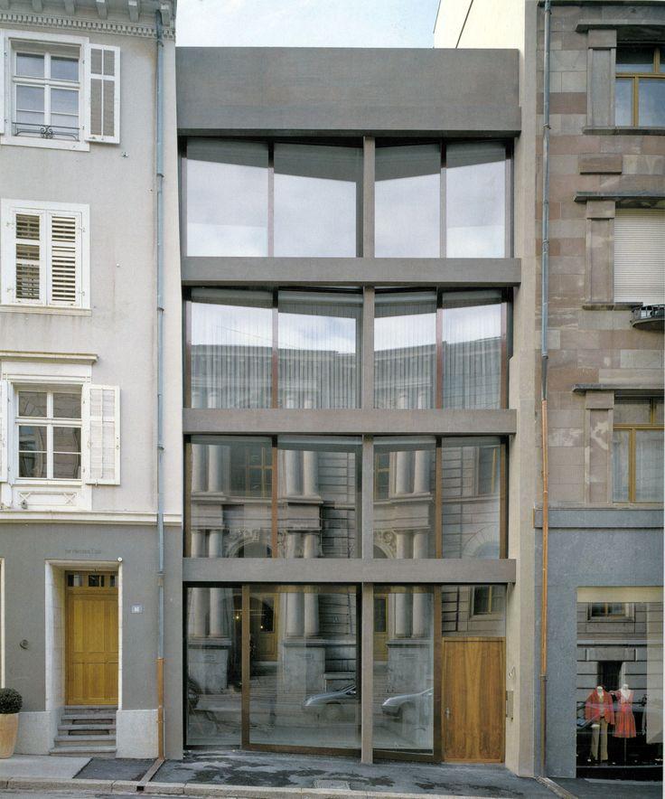 Diener & Diener Architects  Appartment Building, 2005  Basel, Swiss