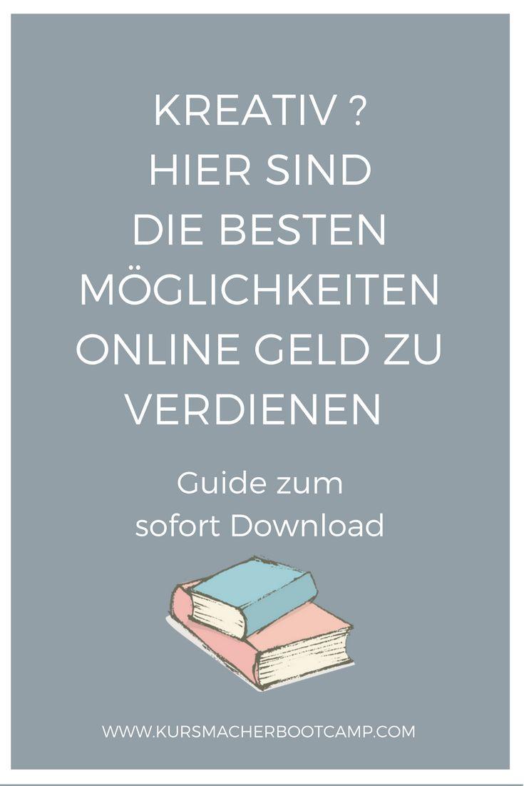 Downloade mit einem Klick den kostenlosen Guide & erfahre, wie du mit deiner Kreativität online Geld verdienen kannst.