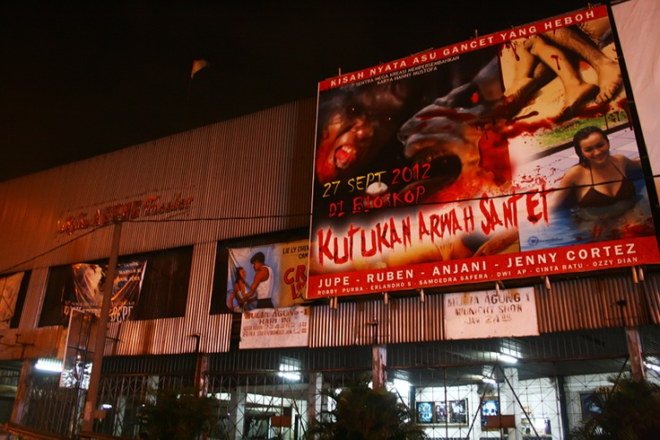 Built in the 1920s, twin cinemas Grand Keramat and Mulia Agung in Central Jakarta are now the city's oldest.