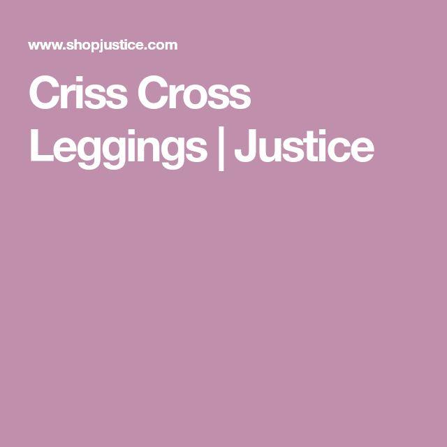 Criss Cross Leggings | Justice
