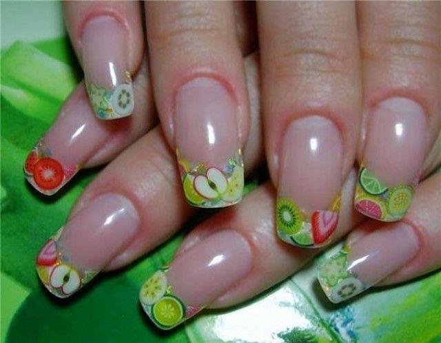 Fimo Nail Art Stickers