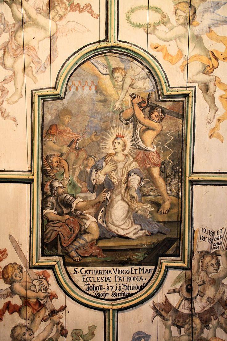 Nusplingen St. Peter und Paul Enthauptung Katharina von Alexandrien 2013-08-20 - Katharina von Alexandrien – Wikipedia