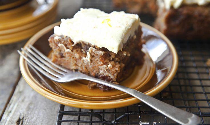 Bezlepkový mrkvový koláč s jemným krémem