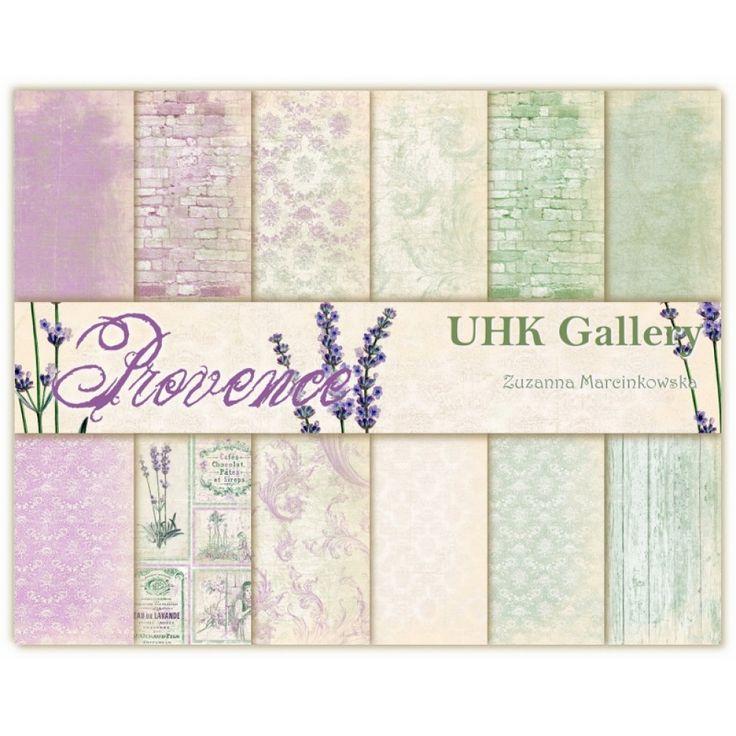 Provence - 12 x 12 6 ks 129,- papergarden.cz
