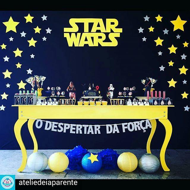 WEBSTA @ carolfesteira - E tem Star Wars com delicadeza! @Regrann from @ateliedeiaparente - {...} Scrap convite Star Wars: O despertar da força. Que a força esteja com você! #festastarwars #starwarsparty #festainfantil #festa #decoraçãodefesta #inspiração #party #partydecor #cake #kidsparty #ideiasparafestas #birthday #firstyear #inspiration #partykids #partyideas #igdefesta #sweettable #carolfesteira