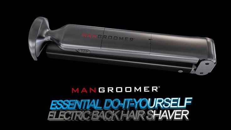 MANGROOMER Essential Do-It-Yourself Electric Back Hair Shaver - Original Back Shaver