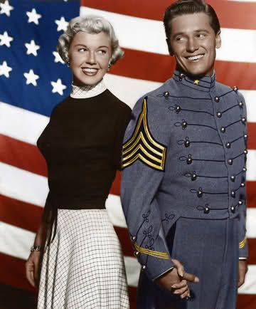 Doris Day & Gordon MacRae, The West Point story