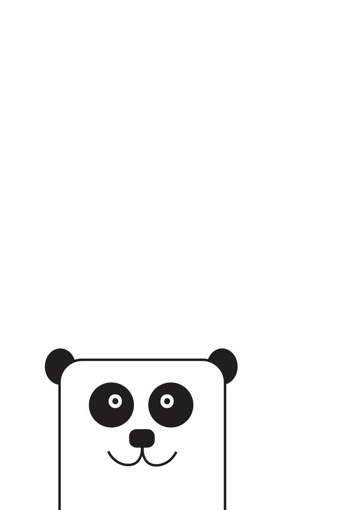Peekaboo panda print by The Little Jones on etsy!