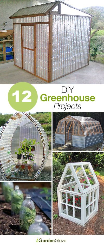12 Great DIY Greenhouse Projects | greenhouse | Pinterest | Diy greenhouse, Garden and Greenhouse gardening