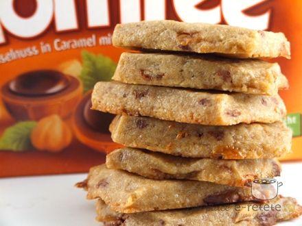 Fursecuri cu ciocolata si cafea (Espresso Cookies)