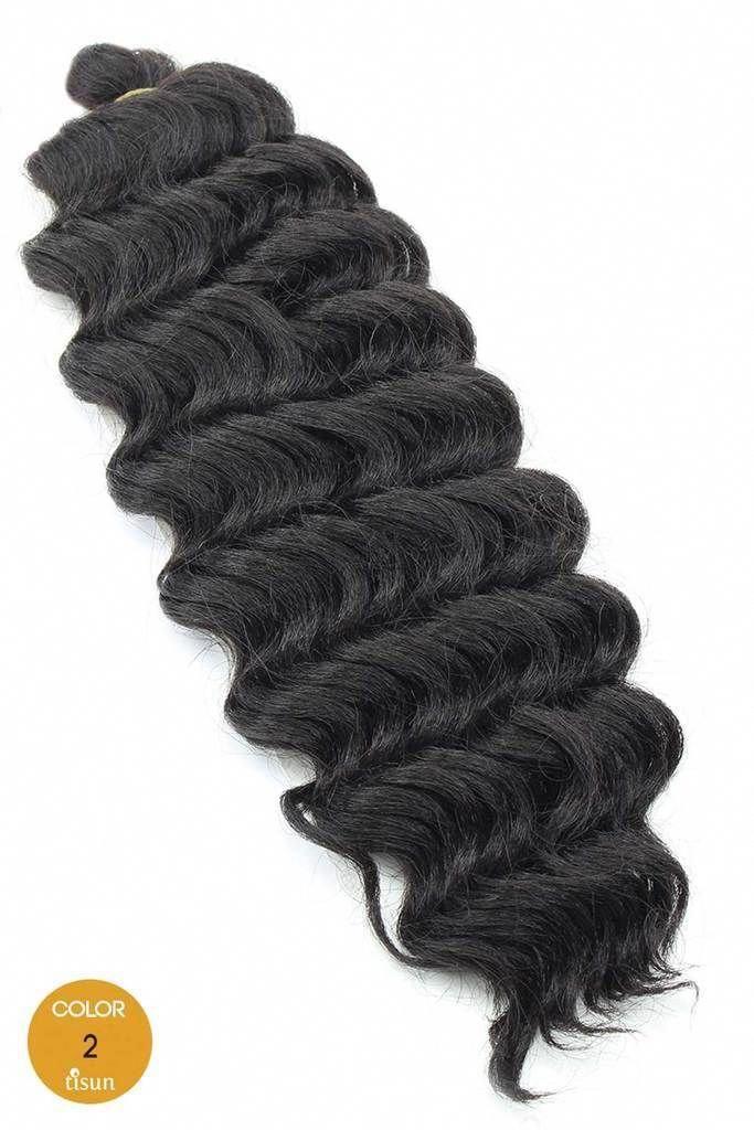 Harlem125 Kima Synthetic Crochet Braiding Hair Ripple Deep