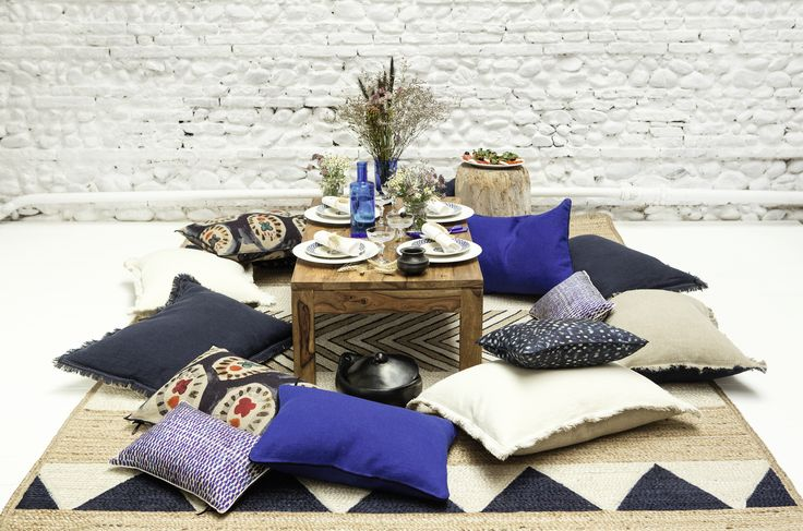New collection of L'Accessoire #cushions, #elitis
