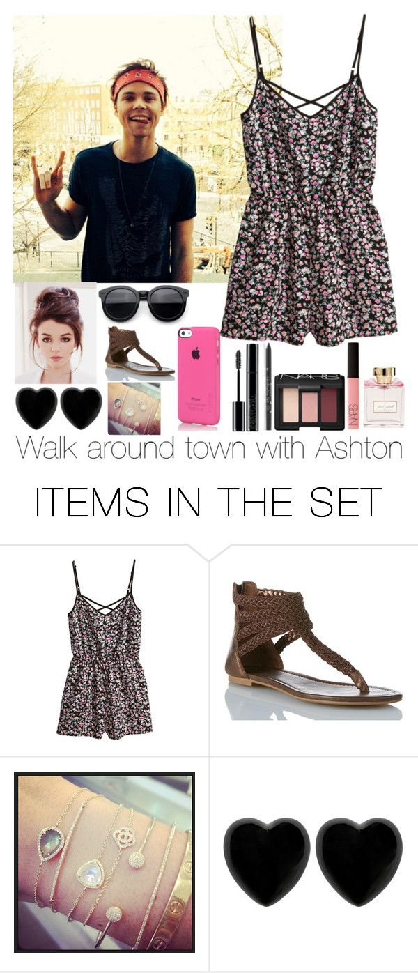 """""""Walk around town with Ashton"""" by cj-london ❤ liked on Polyvore featuring art"""