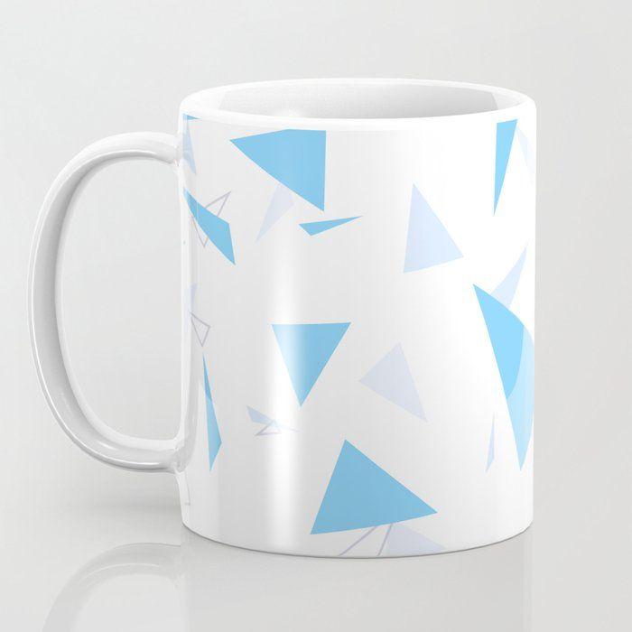 Coffee Mug In 2020 Mugs Triangle Pattern Coffee Mugs