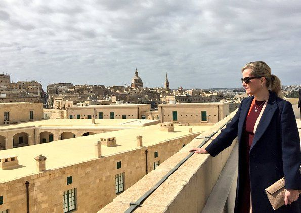 Malta visit of the Countess of Wessex