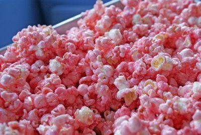 Pink popcorn!!!!!